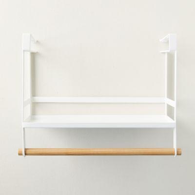 Steel + Wood Under Shelf Storage