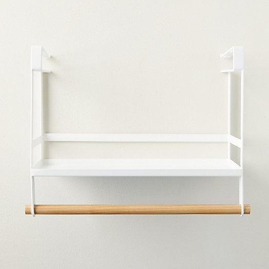 View larger image of Steel + Wood Under Shelf Storage
