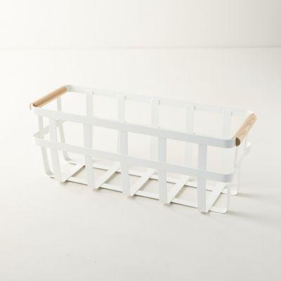 Slim Steel Storage Basket