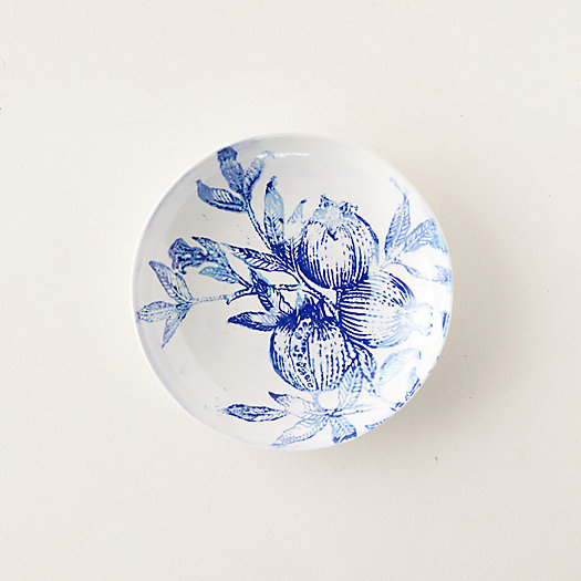 View larger image of Blue Pomegranate Serving Bowl, Medium