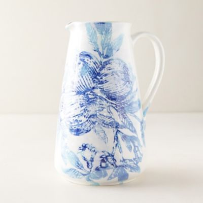 Blue Pomegranate Pitcher
