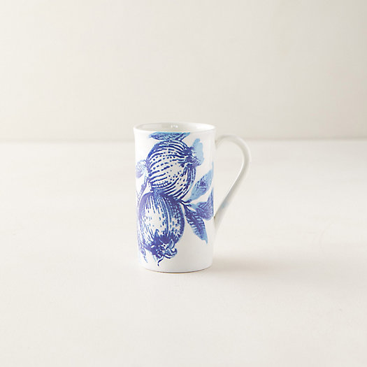 View larger image of Blue Pomegranate Tall Mug