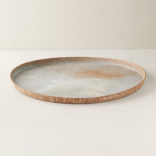 View larger image of Distressed Zinc Treasure Tray