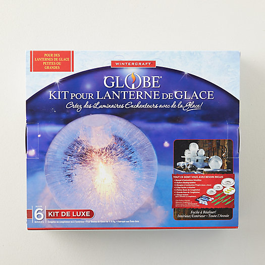 View larger image of Globe Ice Lantern Making Kit