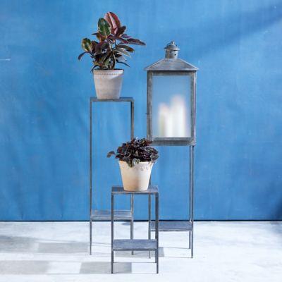Galvanized Iron Plant Stand