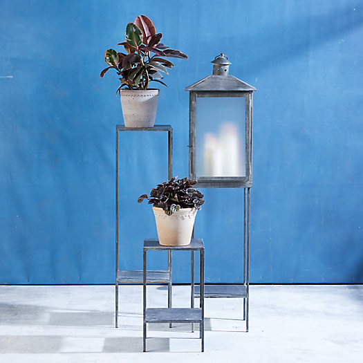 View larger image of Galvanized Iron Plant Stand