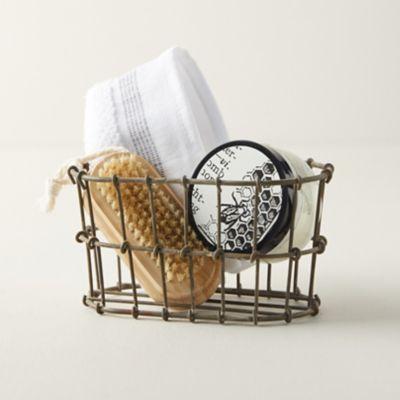 Wire Bathroom Storage Basket