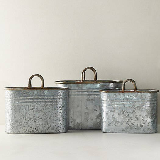View larger image of Galvanized Metal Bucket
