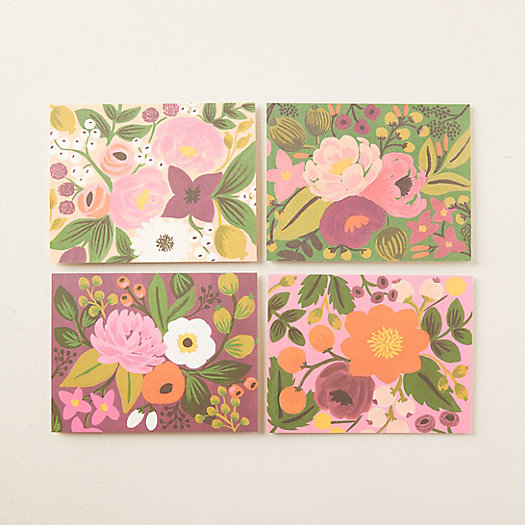 View larger image of Vintage Blossoms Greeting Cards, Set of 8
