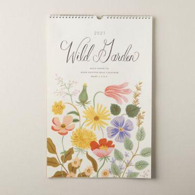 Wild Garden 2021 Wall Calendar