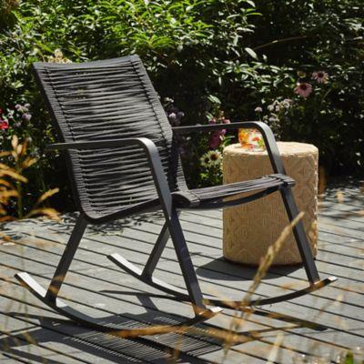 Veranda Woven Rocking Chair