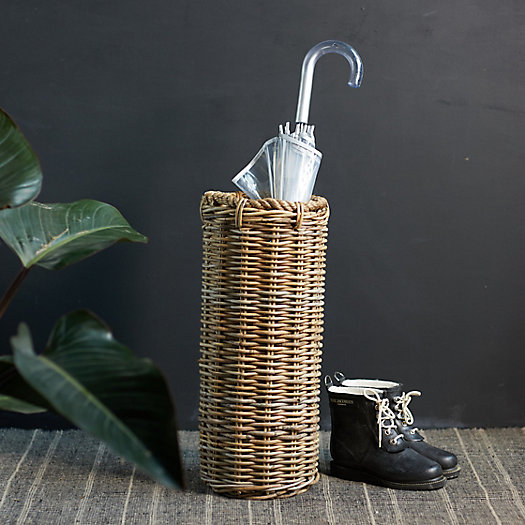 View larger image of Rattan Umbrella Stand