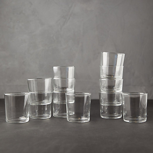 View larger image of Modern Cafe Glassware, Set of 12