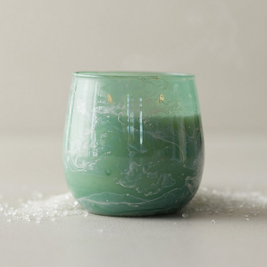 View larger image of Linnea Marbled Candle, Sea Salt