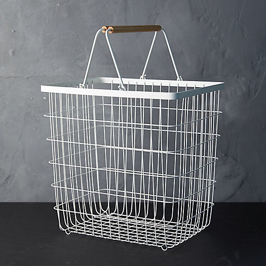 View larger image of Wire Laundry Basket