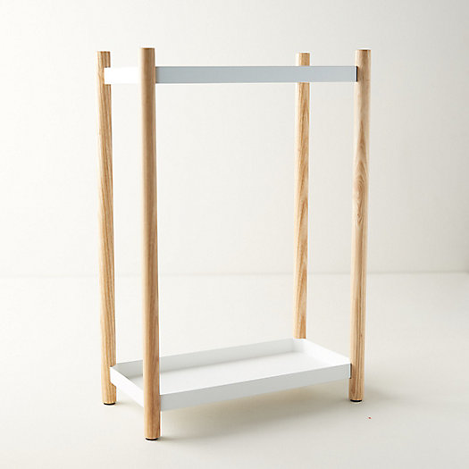 View larger image of Steel + Wood Umbrella Stand