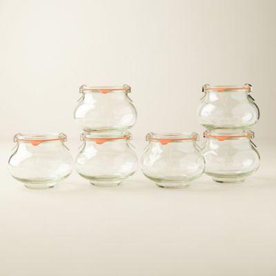 0.5L Deco Weck Jar Set