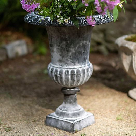 View larger image of Cast Iron Urn Planter