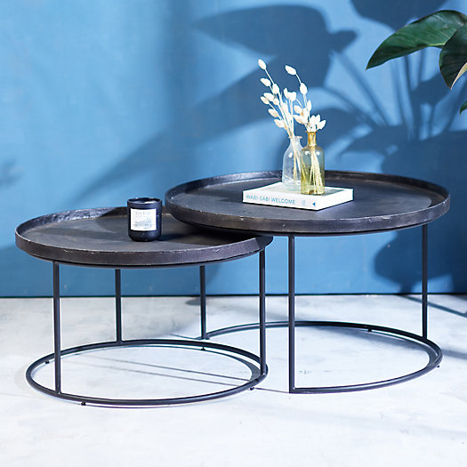 View larger image of Round Nesting Coffee Tables