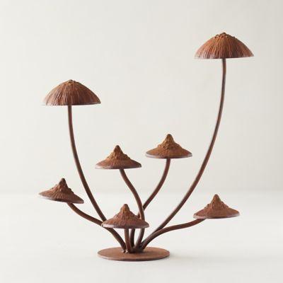 Iron Mushroom Tabletop Decor