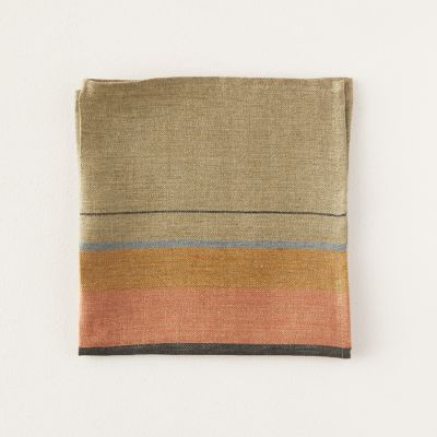 St. Jacobs Striped Linen Napkin