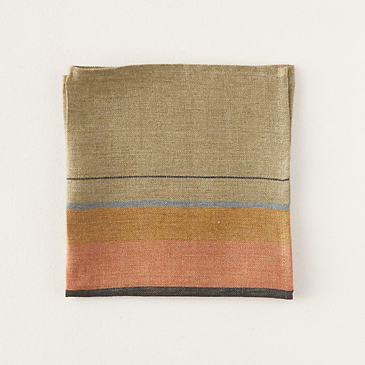View larger image of St. Jacobs Striped Linen Napkin