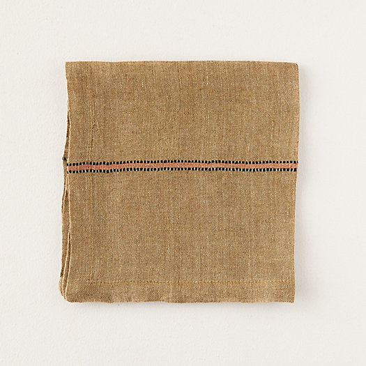 View larger image of Marie Stripe Linen Napkin