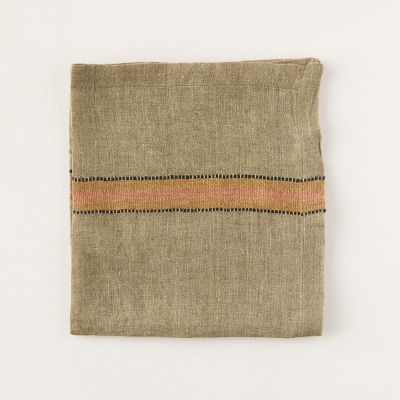 Marie Stripe Linen Napkin