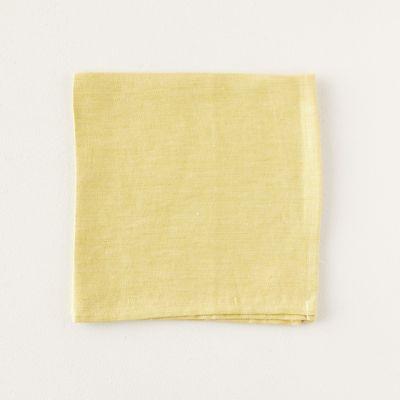 Yellow Linen Napkin