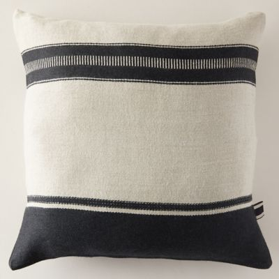 Multi Stripe Linen Pillow Cover
