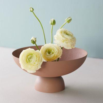 Iron Pedestal Decorative Bowl