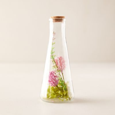 Faux Dried Florals in Vase