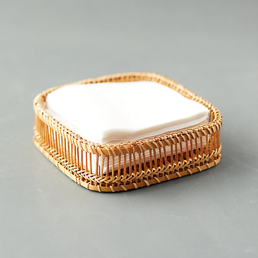 View larger image of Woven Bamboo Napkin Holder