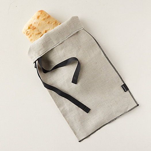View larger image of Linen Bread Storage Bag