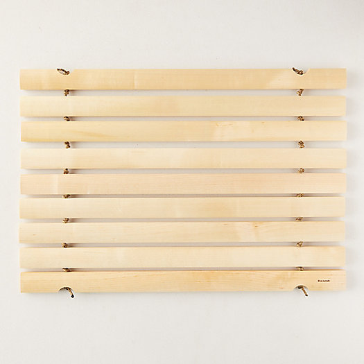 View larger image of Slatted Birch Bath Mat