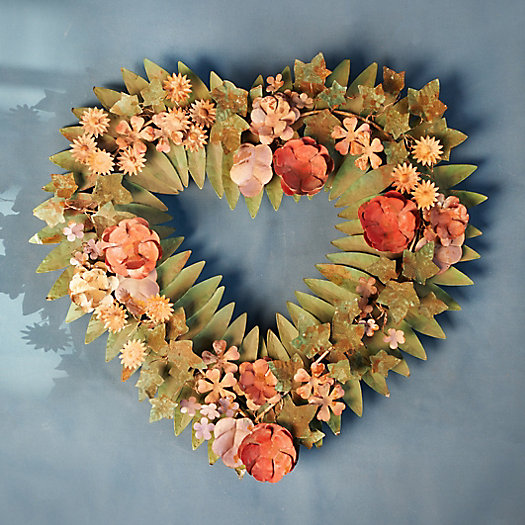 View larger image of Iron Heart Leaf Wreath