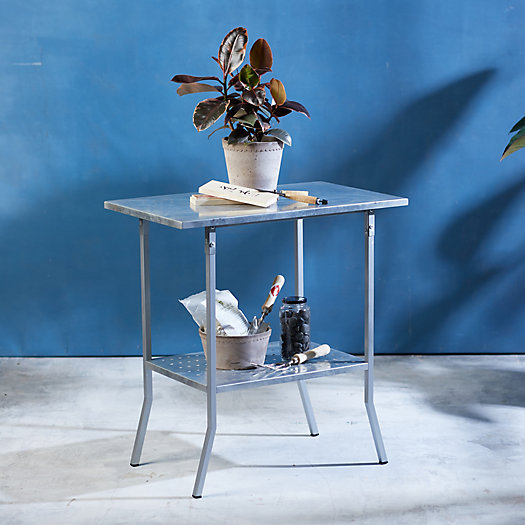 View larger image of Galvanized Iron Garden Table