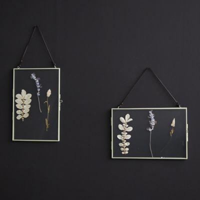 Pressed Flowers Hanging Frame