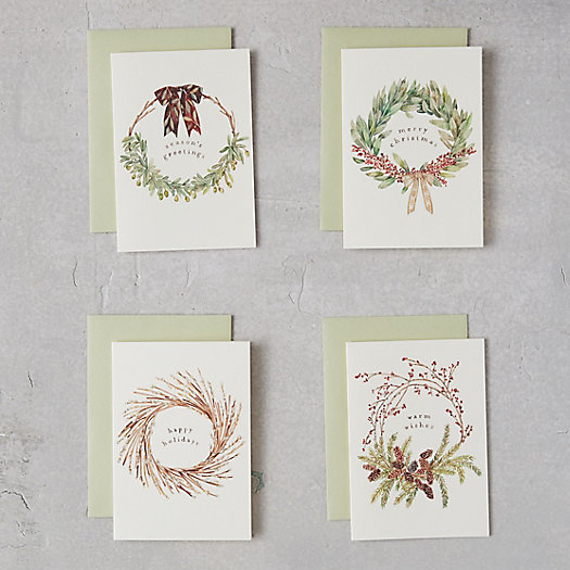 View larger image of Holiday Wreath Cards