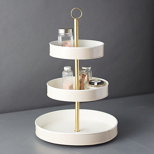 View larger image of Enamel 3-Tier Tray