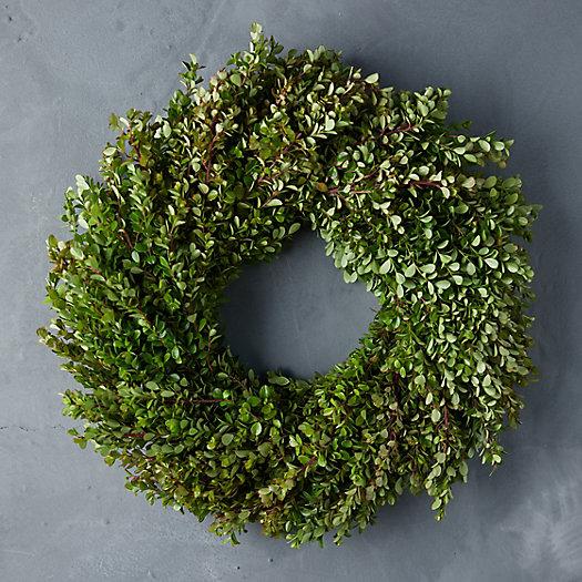 View larger image of Fresh Boxwood Wreath