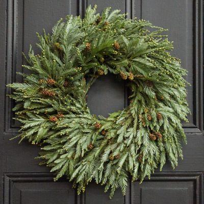 Fresh Redwood Wreath