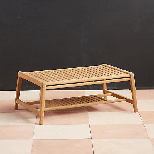 View larger image of Mesa Teak Coffee Table