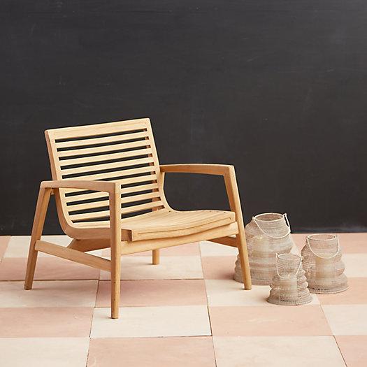 View larger image of Mesa Teak Chair