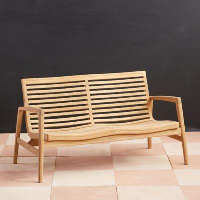 Mesa Teak Two Seat Sofa