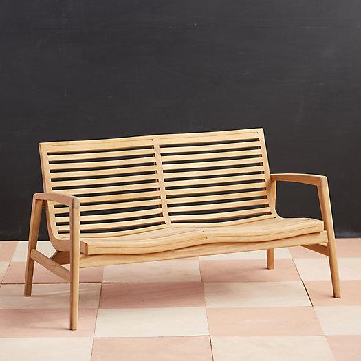 View larger image of Mesa Teak Two Seat Sofa