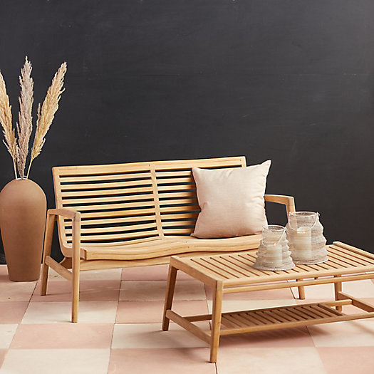 View larger image of Mesa Teak Two Seat Sofa