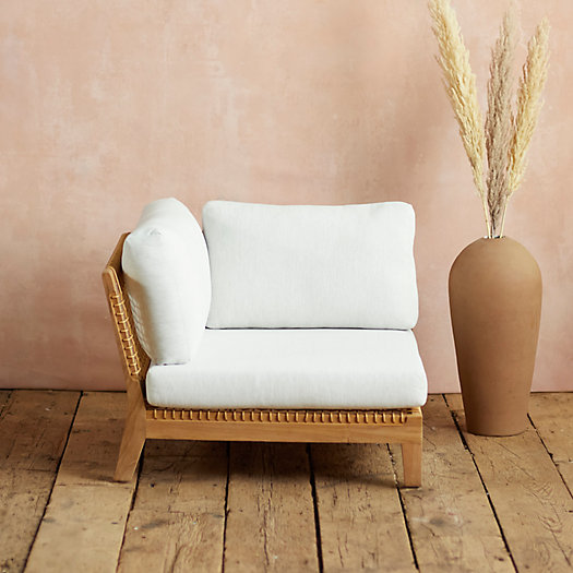 View larger image of Sonoma Woven Corner Chair