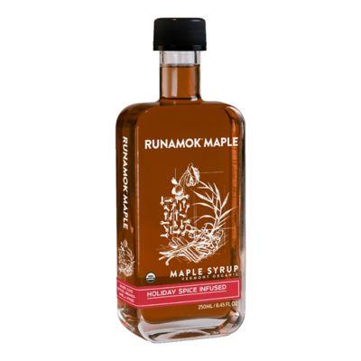 Runamok Holiday Spice Maple Syrup