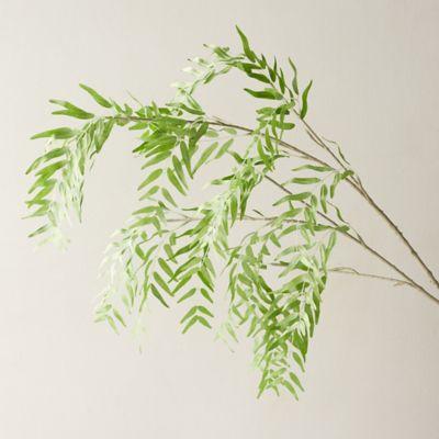 Faux Willow Leaf Spray